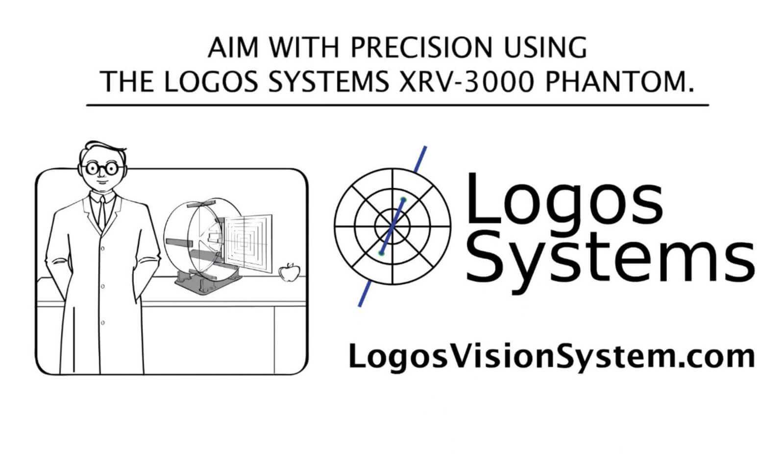Aim with precision with the Logos Systems XRV-3000 Phantom.
